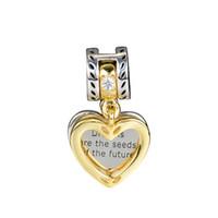 Pandulaso Seeds der Zukunft baumeln Perlen für Schmuck machen Fit Chairms 925 Silber Armband Armreif Modeschmuck Herbst Kollektion
