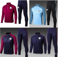 2017 2018 new MEN MC City Tranning KITS outfits Tracksuits J...