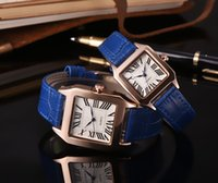 Fashion Luxury Watches Unisex Women Men Watch Square Diamond...