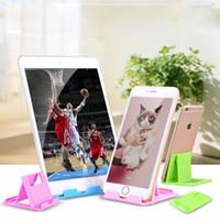 Tembel Standı _ Yaratıcı Taşınabilir Telefon Tablet Masaüstü Destek Katlanır Taban 5 Dosya Açısı Şezlong Cep Telefonu Tutucular