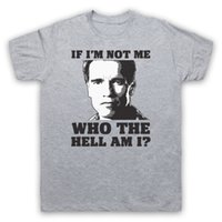 TOTAL RECALL IF I' M NOT ME UNOFFICIAL ARNIE SCI FI T- SH...