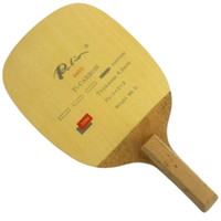 TE 8603 Ti-Carbon Table Tennis (Penhold اليابانية) لمضرب Pingpong