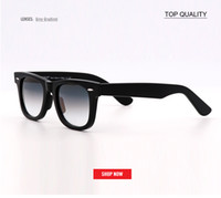 top quality gradient grayl Real glass lens square classic UV...