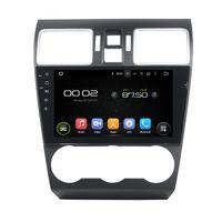GPS를 가진 Subaru WRX 9inch PX5 외피 A53 Octa 중핵 Andriod 6.0를위한 차 DVD 플레이어, 핸들 통제, 블루투스, 라디오
