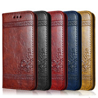 Luxury Brand Leather Wallet Flip Phone Case for IPhone 8 7 6...
