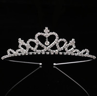 Fashion Wedding Party Princess Crown Rhinestone Hair Accesso...