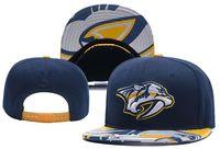 قبعات جديدة ناشفيل بريداتورز الهوكي Snapback القبعات اللون الأزرق كاب فريق قبعات ميكس المباراة ترتيب جميع قبعات أعلى جودة قبعة
