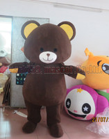 Brown bear mascot costume Free Shipping Adult Size, New bear ...