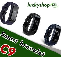 New C9 Smart Wrist Band Watch Blood Pressure Oxygen Monitor ...