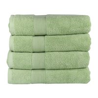 Luxury Girl Bath Towel Green 28*55 Inch Cotton Home Shower P...