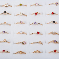 Factory direct sales of exquisite and simple fashion zircon ...