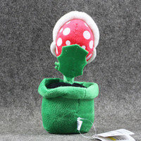 Super Mario Plush Piranha Plant Mario Plush 20CM Anime Toys ...