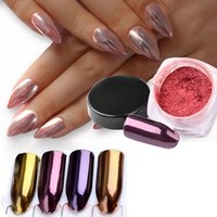 2017 New Nail Decorations Product Long Lasting Gold Purple R...