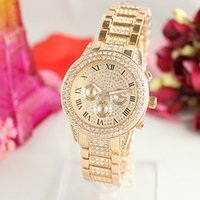 Hot Luxury Watch Brand Women Diamond Dress Quartz Ladies Cas...