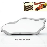 10pcs Sports car Metal cookie cutter Racing cars fondant sta...