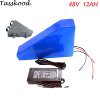 Free customs taxes triangle lithium battery 48V 12Ah electri...