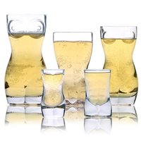 Creative Clear Wine Glasses For Man Fashion Whiskey Beer Cry...
