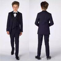 سن المراهقة الذكية سهرة مخصصة للأطفال ملابس رسمية حزب رسمي بانت الدعاوى عشاء الدعاوى زفاف العريس البدلات الرسمية للبنين (سترة + سروال + سترة)