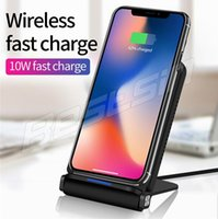 Dual Coil Qi Wireless Charger Charger 10W for iPhone 8 10 X ...