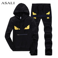 ASALI Men Sportswear Set Men' s Active Tracksuits hoodie...