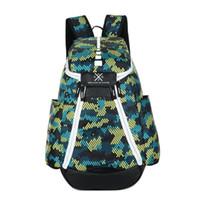 حقائب كرة السلة 2833 العلامة التجارية الجديدة الأولمبية الولايات المتحدة الأمريكية فريق الحزم حقيبة الظهر الرجل سعة كبيرة للماء التدريب حقائب السفر انخفاض الشحن