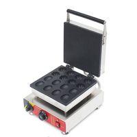 Beijamei aperatif ekipmanları Ticari Nut şekil çiçek şekil waffle makinesi elektrikli gözleme yapma makinesi 110V 220V