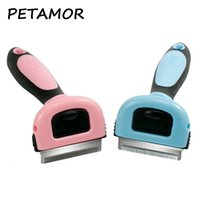 Dog Hair Comb Dog Cats Hair Detachable Grooming Brush Clippe...