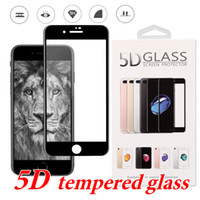 5D Tempered Glass For iPhone X Durable 9H Hardness Screen Pr...