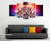 Stranger Things Canvas Prints Wall Art Decor Poster Blue Sta...
