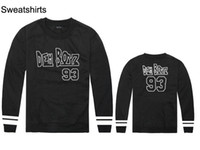 2018 nouveaux styles dem boyz 100% coton hommes et femmes sweat-shirts hip hop nouveau style casual automne et hiver sports de plein air hoodies vêtements