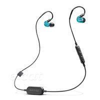 شور SE215-BT1 سماعات لاسلكية ايفي سماعات في الأذن إلغاء الضوضاء بلوتوث الرياضة ياربود نقل لفائف سماعات الأذن مع حزمة البيع