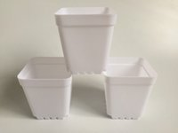 100Pcs Wholesale cheap Mini Nursery Pots White Plastic Plant...