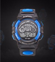 Fashion NT children boys girls sport led digital watch elect...