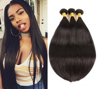 Brazilian Virgin Hair Straight 3 Bundles 100% Unprocessed Hu...