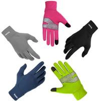 Boodun guantes de conducción al aire libre Bicicleta de invierno guantes de montar a caballo escalada de silicona antideslizante guantes de pantalla táctil Epacket envío gratis