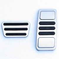 Non- slip Car Foot Pedal Pad Cover Fit Accelerator Gas Brake ...