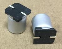 20pcs 35V 680UF 12.5 * 13.5mm SMDチップアルミ電解コンデンサ