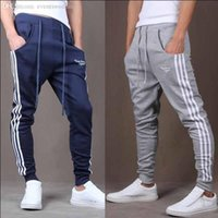 Wholesale- Cool Design Men Casual Sweatpants Big Pocket Summe...