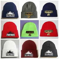 New Fortnite Battle Knitted Hat 4 Colors Hip Hop Embroidery ...