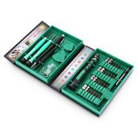 Kit de tournevis compact 38 en 1 Kit de réparation d'outil de serrage Kit de tournevis de précision Outils à main pour téléphone