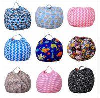 Kinder Lagerung Bean Taschen Plüsch Spielzeug 43 Farben Sitzsack Schlafzimmer Gefüllte Tier Zimmer Matten Tragbare Kleidung Aufbewahrungstasche Dhl-freies Verschiffen