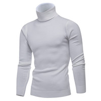 Winter High Neck Thick Warm Sweater Men Turtleneck Brand Men...