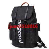 Moda Agua ondulada Red / Black School Bag New Style Student Mochila para Mujeres Hombres Mochila Schoolbag Bolsa de viaje
