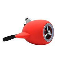 لطيف الكرتون نموذج الطائرات الصغيرة المروحة اللاسلكية بلوتوث المتكلم مصغرة مضخم الصوت المحمولة الإبداعية