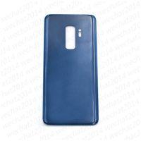 50шт крышка батарейного отсека задняя крышка корпуса стеклянная крышка для Samsung Galaxy S9 Plus G960F G965F с клейкой наклейкой