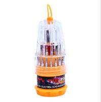 31 en 1 Destornillador magnético Herramientas Conjunto de precisión de mini kit de destornilladores de mano Reparación profesional Apertura de la herramienta Teléfono
