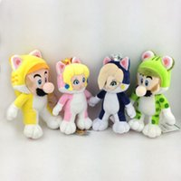 Super Mario World Cat Princess Peach Rosalina Soft Plush Toy...