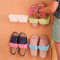 أحذية بسيطة الشماعات الجدار غرفة المعيشة حمام الرجال النساء أحذية الأطفال شماعات إنقاذ غرفة منتج كبير 5 ألوان يمكن أن تختار