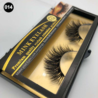 Maquillage Vison Cils Faux Faux Cils À La Main Naturel Longs Épais 100% Réel Vison Naturel Épaisseur De L'eye Lashes Extension 2018 Qualité Premium