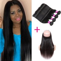 Pre Plucked 360 Lace Frontal Brazilian Virgin Hair Body Wave...